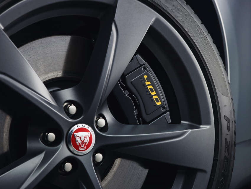 2018 Jaguar F-Type range – 400 Sport special edition Image #601780