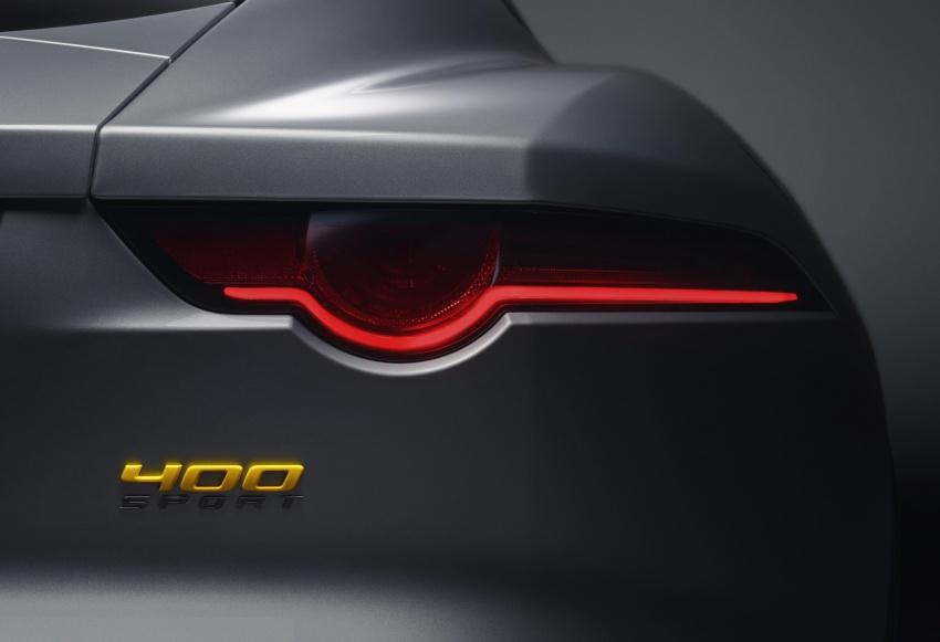 2018 Jaguar F-Type range – 400 Sport special edition Image #601784