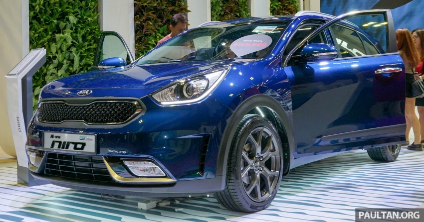 Kia Niro Hybrid debuts at the Singapore Motor Show Image #603529