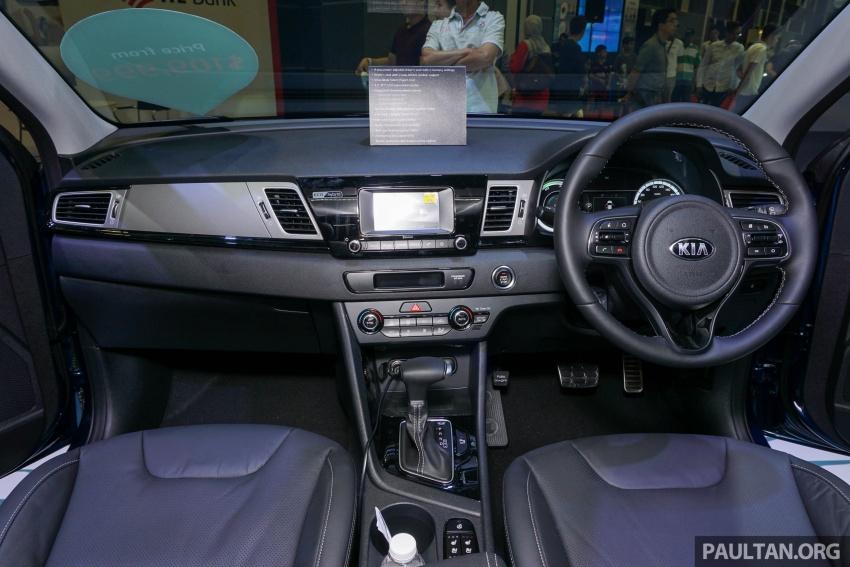 Kia Niro Hybrid debuts at the Singapore Motor Show Image #603540