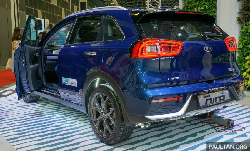 Kia Niro Hybrid debuts at the Singapore Motor Show Image #603530