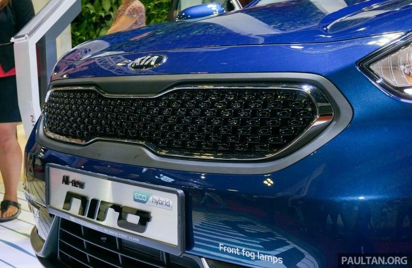 Kia Niro Hybrid debuts at the Singapore Motor Show Image #603534