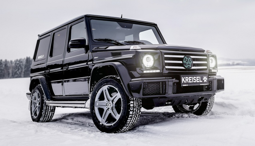 Mercedes-Benz G-Class EV commissioned by Arnold Schwarzenegger – 2.6 tonnes; 0-100 km/h in 5.6s Image #607726