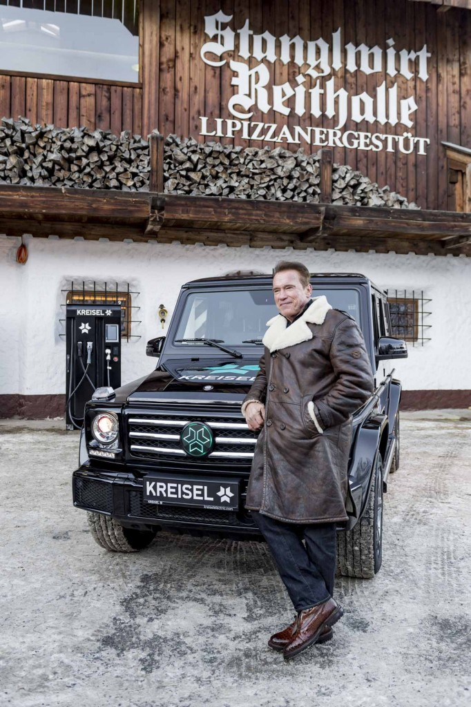 Mercedes-Benz G-Class EV commissioned by Arnold Schwarzenegger – 2.6 tonnes; 0-100 km/h in 5.6s Image #607741