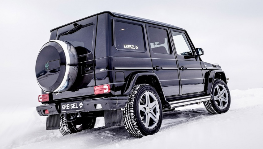 Mercedes-Benz G-Class EV commissioned by Arnold Schwarzenegger – 2.6 tonnes; 0-100 km/h in 5.6s Image #607729