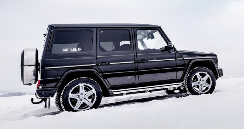 Mercedes-Benz G-Class EV commissioned by Arnold Schwarzenegger – 2.6 tonnes; 0-100 km/h in 5.6s Image #607730