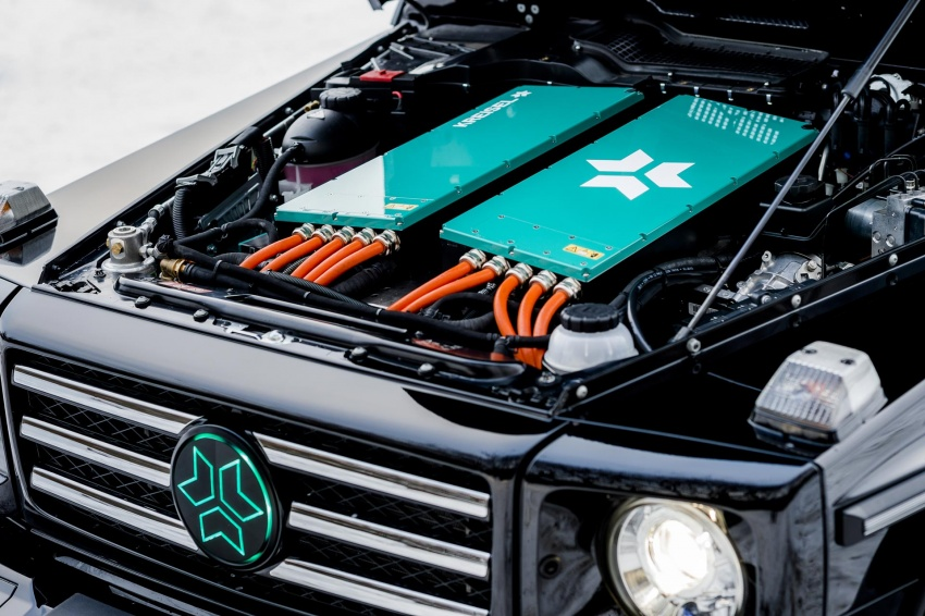 Mercedes-Benz G-Class EV commissioned by Arnold Schwarzenegger – 2.6 tonnes; 0-100 km/h in 5.6s Image #607731