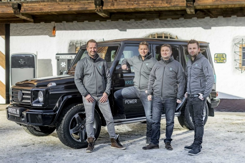 Mercedes-Benz G-Class EV commissioned by Arnold Schwarzenegger – 2.6 tonnes; 0-100 km/h in 5.6s Image #607734