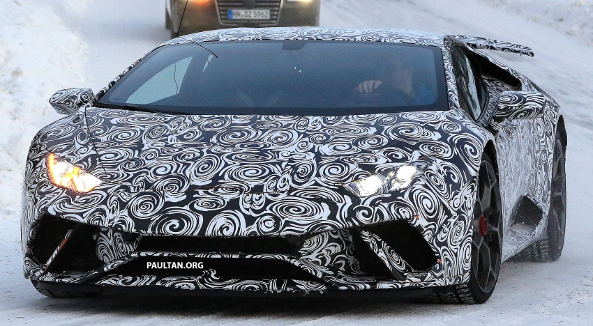 SPIED: Lamborghini Huracan Superleggera, Spyder Performante seen testing ahead of 2017 Geneva debut Image #601710