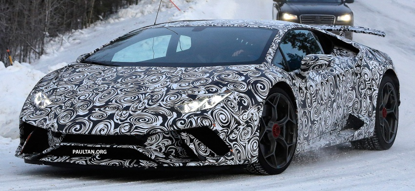 SPIED: Lamborghini Huracan Superleggera, Spyder Performante seen testing ahead of 2017 Geneva debut Image #601711