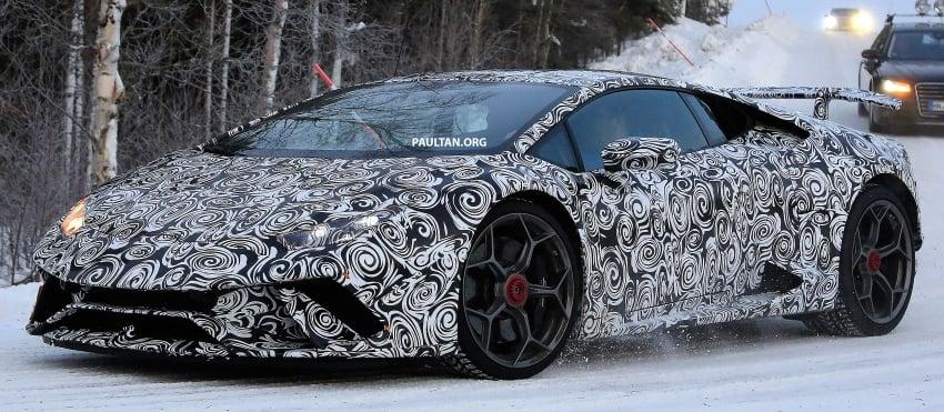 SPIED: Lamborghini Huracan Superleggera, Spyder Performante seen testing ahead of 2017 Geneva debut Image #601712
