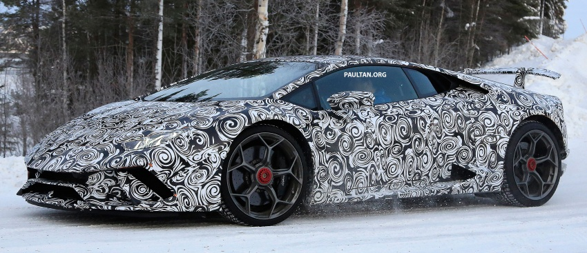 SPIED: Lamborghini Huracan Superleggera, Spyder Performante seen testing ahead of 2017 Geneva debut Image #601713