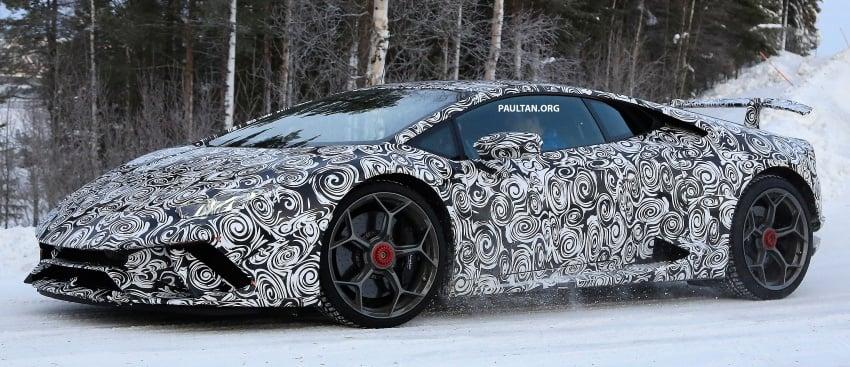 SPIED: Lamborghini Huracan Superleggera, Spyder Performante seen testing ahead of 2017 Geneva debut Image #601713