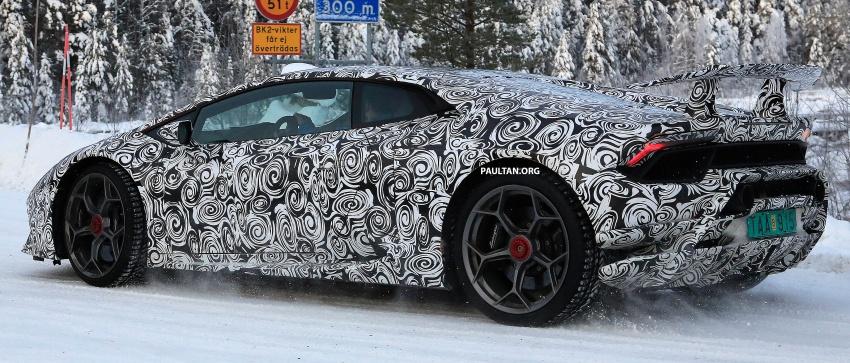 SPIED: Lamborghini Huracan Superleggera, Spyder Performante seen testing ahead of 2017 Geneva debut Image #601715