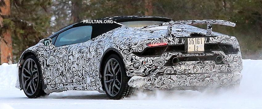 SPIED: Lamborghini Huracan Superleggera, Spyder Performante seen testing ahead of 2017 Geneva debut Image #601725