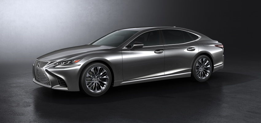 2018 Lexus LS 500 debuts with new 3.5 litre biturbo V6, 10-speed auto, pedestrian avoidance, 24-inch HUD Image #615715