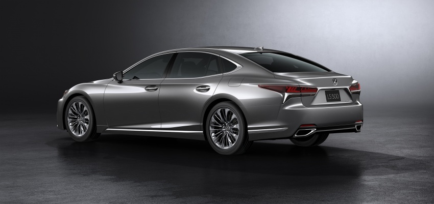 2018 Lexus LS 500 debuts with new 3.5 litre biturbo V6, 10-speed auto, pedestrian avoidance, 24-inch HUD Image #615716