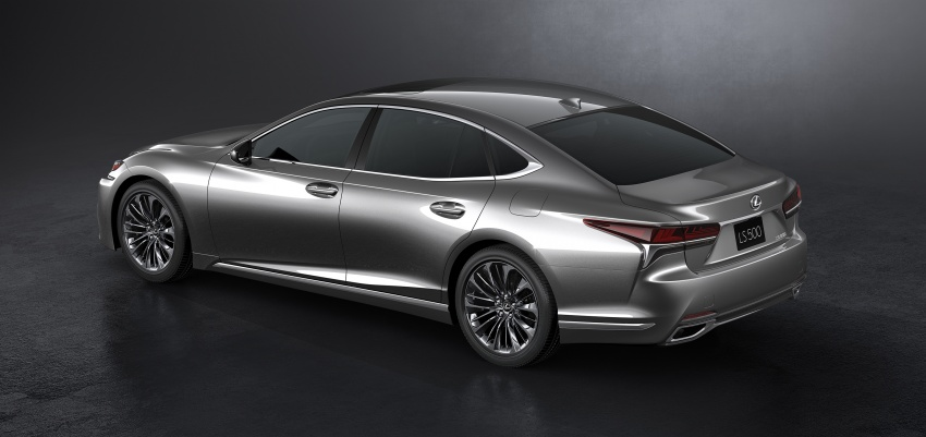 2018 Lexus LS 500 debuts with new 3.5 litre biturbo V6, 10-speed auto, pedestrian avoidance, 24-inch HUD Image #615723