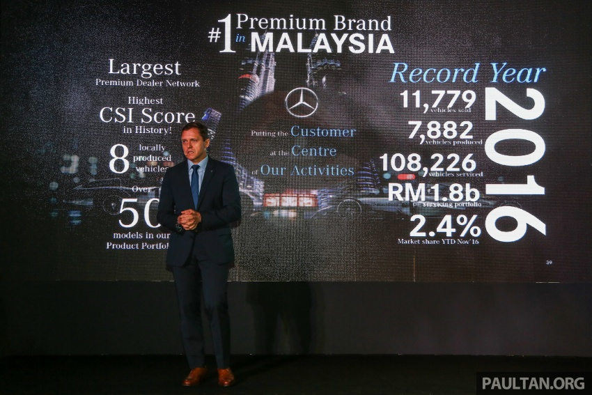 Mercedes-Benz Malaysia marks another record year in 2016 – 11,779 vehicles delivered, 9% up from 2015 Image #602851