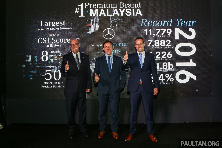 Mercedes-Benz Malaysia marks another record year in 2016 – 11,779 vehicles delivered, 9% up from 2015 Image #602852