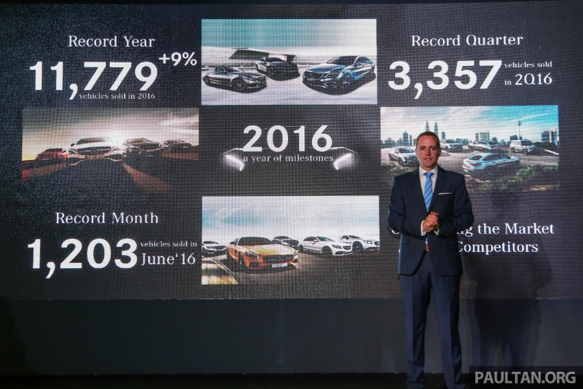 Mercedes-Benz Malaysia marks another record year in 2016 – 11,779 vehicles delivered, 9% up from 2015 Image #602835
