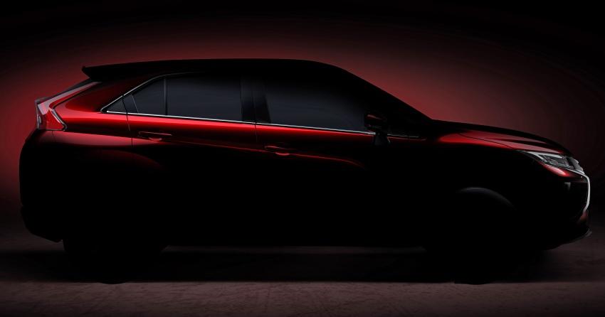 Mitsubishi teases new compact SUV for Geneva show Image #607917