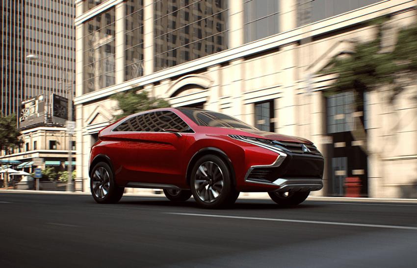 Mitsubishi teases new compact SUV for Geneva show Image #607940