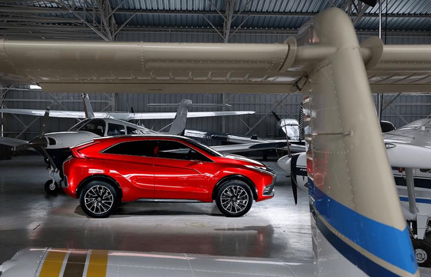 Mitsubishi teases new compact SUV for Geneva show Image #607950