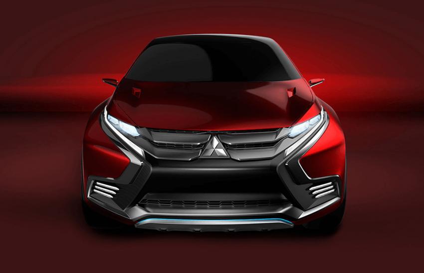 Mitsubishi teases new compact SUV for Geneva show Image #607925