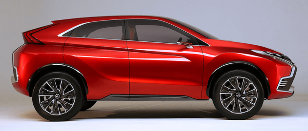 Mitsubishi Teases New Compact Suv For Geneva Show