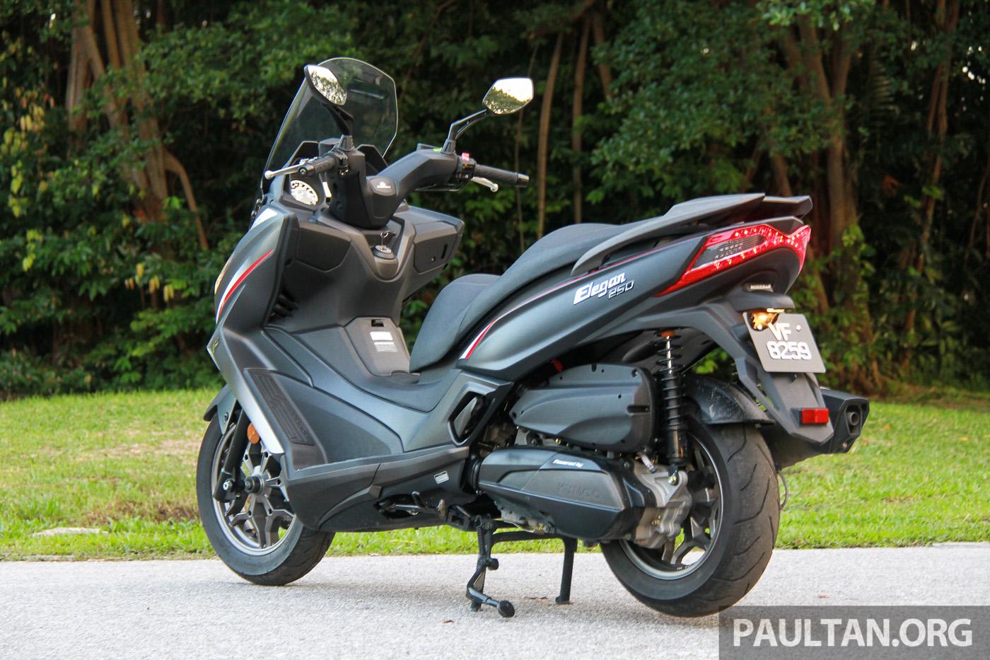 Kawasaki Scooter Jreview