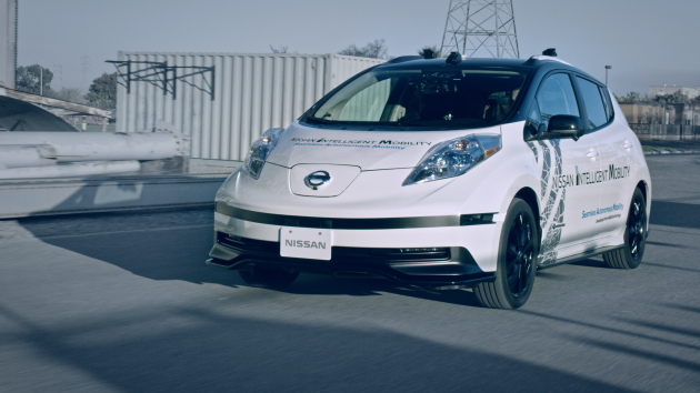Nissan intelligent mobility blueprint detailed by ceo all new leaf nissans presence at the 2017 consumer electronics show was marked with the announcement of several technologies and partnerships as part of the nissan malvernweather Gallery