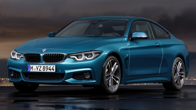 BMW Series LCI Teased Coming To Malaysia Soon - Bmw 4 series models