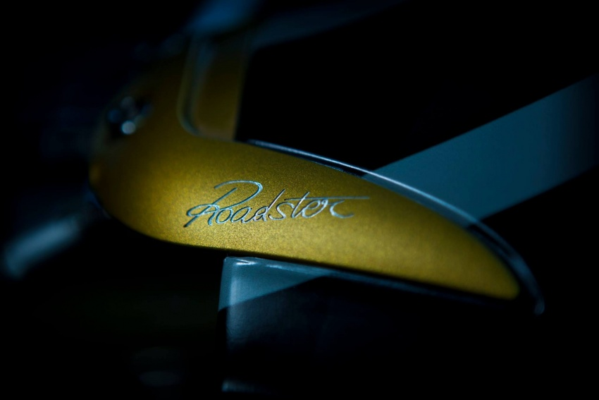 Pagani Huayra Roadster teaser shows new rear end Image #604633