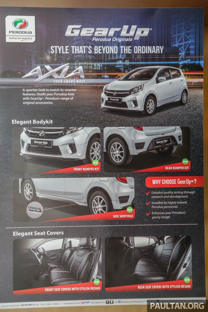 2017 Perodua Axia facelift in showrooms, from RM25k Image #604903
