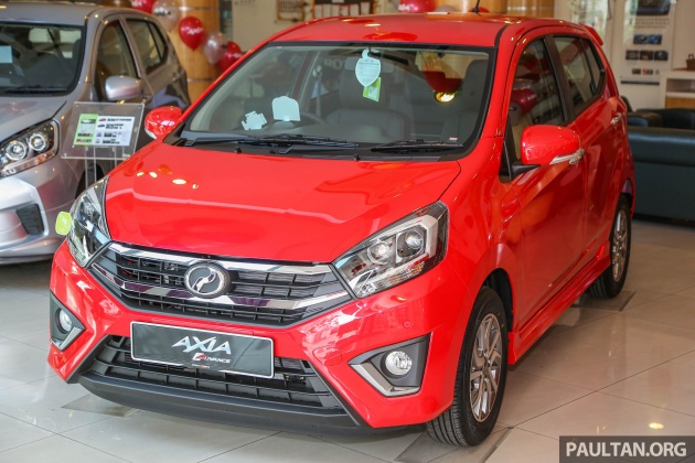 perodua new release car2017 Perodua Axia facelift in showrooms from RM25k