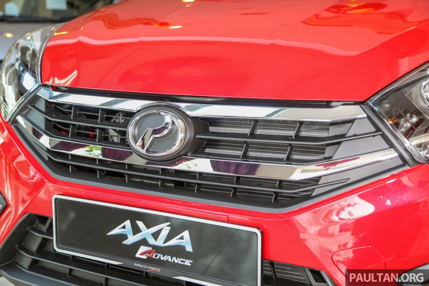 2017 Perodua Axia facelift in showrooms, from RM25k Image #604719