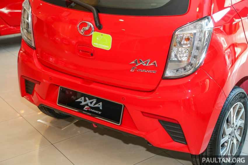2017 Perodua Axia facelift in showrooms, from RM25k Image #604727
