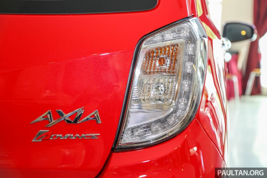 2017 Perodua Axia facelift in showrooms, from RM25k Image #604728