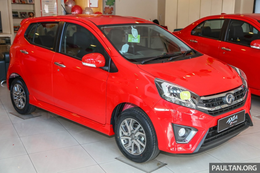 2017 Perodua Axia facelift in showrooms, from RM25k Image #604709
