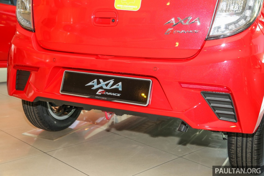 2017 Perodua Axia facelift in showrooms, from RM25k Image #604732