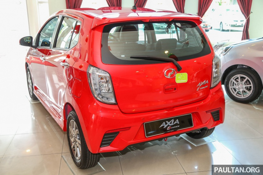 2017 Perodua Axia facelift in showrooms, from RM25k Image #604711