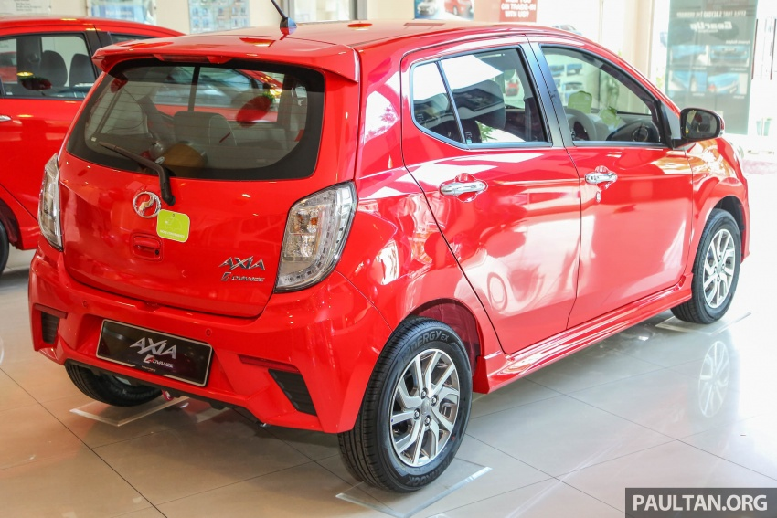 2017 Perodua Axia facelift in showrooms, from RM25k Image #604712