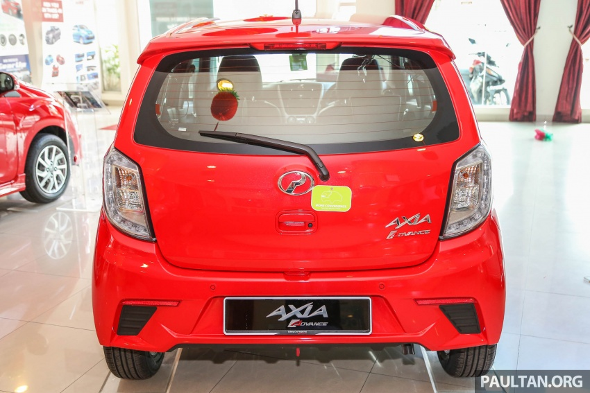 2017 Perodua Axia facelift in showrooms, from RM25k Image #604714