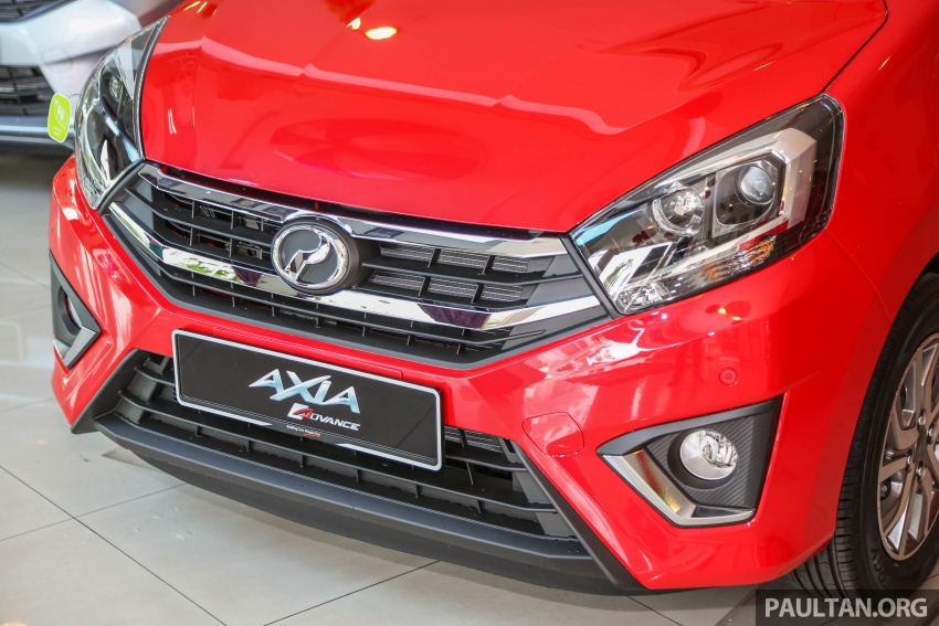 2017 Perodua Axia facelift in showrooms, from RM25k Image #604715