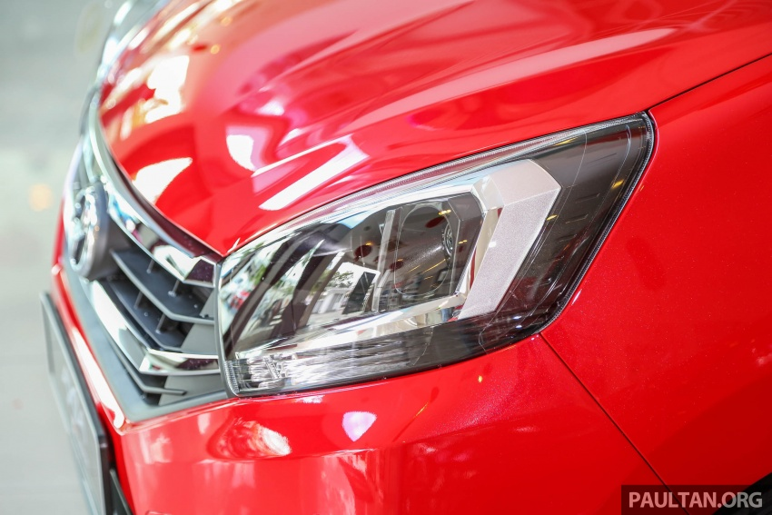 2017 Perodua Axia facelift in showrooms, from RM25k Image #604718