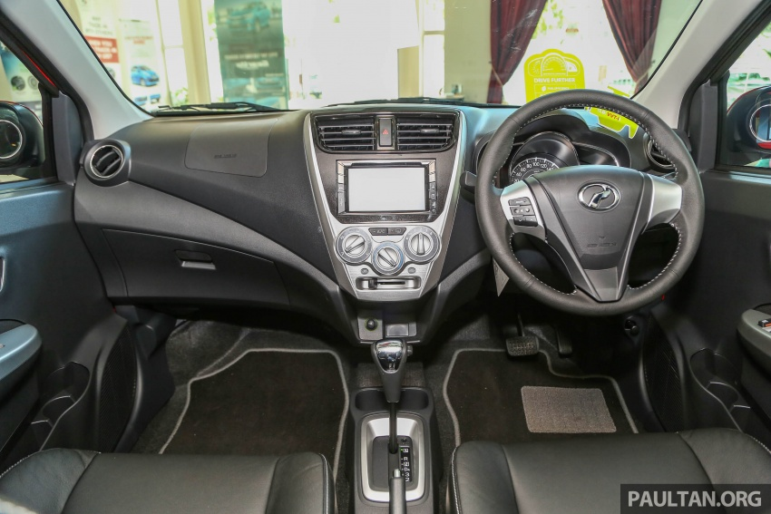 2017 Perodua Axia facelift in showrooms, from RM25k Image #604738