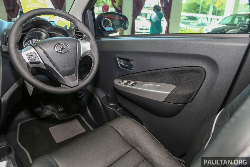 2017 Perodua Axia facelift in showrooms, from RM25k Image #604750