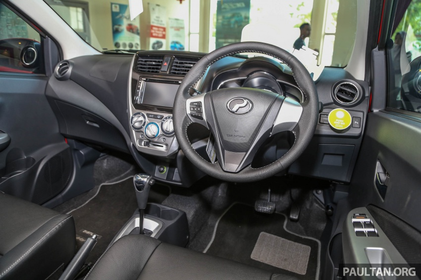 2017 Perodua Axia facelift in showrooms, from RM25k Image #604751