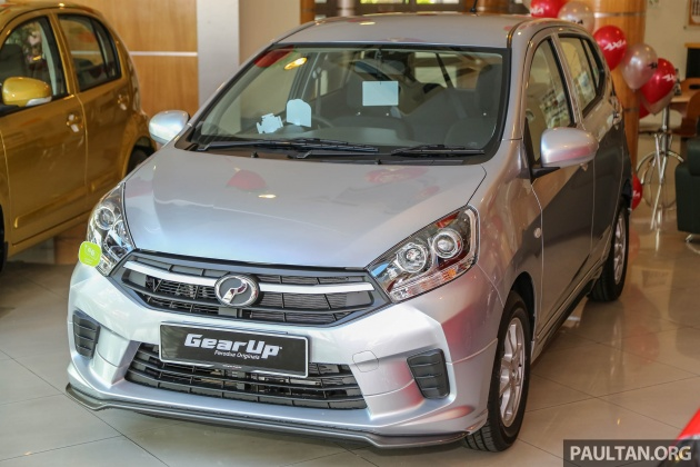 2017 Perodua Axia facelift in showrooms, from RM25k